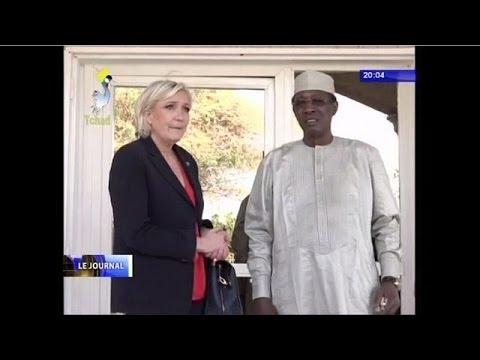 sécurité dans la sous-région Afrique centrale au menu de la visite de Marine LE PEN au Tchad