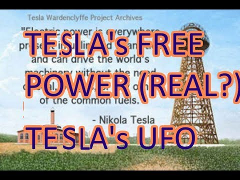 Tesla - His Fringe Sci - Radiant Energy,Spark Gap,Ether,Cold Electricity,Gravity & UFO conspiracies