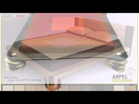 Arredamento letti giapponesi giwa materassi youtube for Letti arredamento
