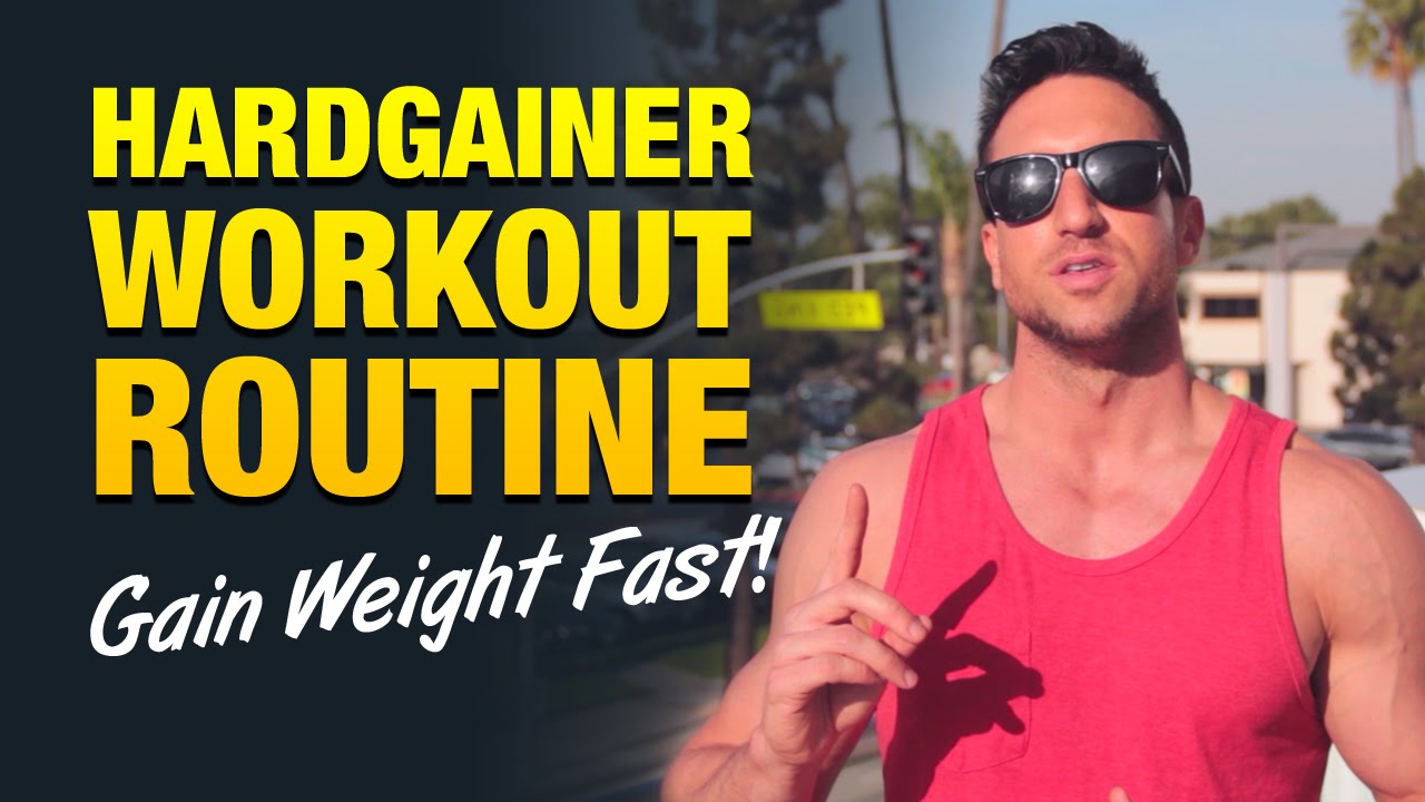 Hardgainer Workout Routine: Skinny Guys, Follow This ...