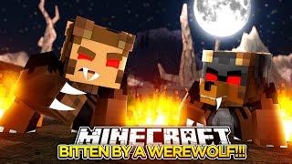 bitten by a giant werewolf minecraft little donny adventures