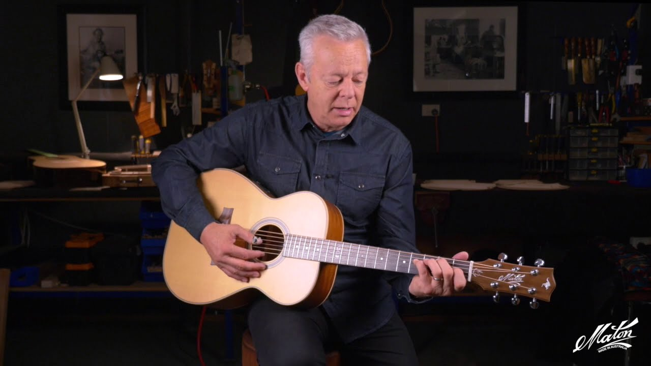 Tommy Emmanuel Presents The Maton T E Personal Custom