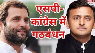 UP assembly election साथ लड़ेंगे SP Congress, SP Congress में हुआ गठंबधन!