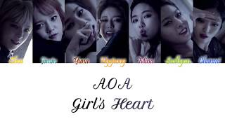 AOA (에이오에이) - Girl's Heart (여자사용법) Han/Rom/Eng Color Coded L…