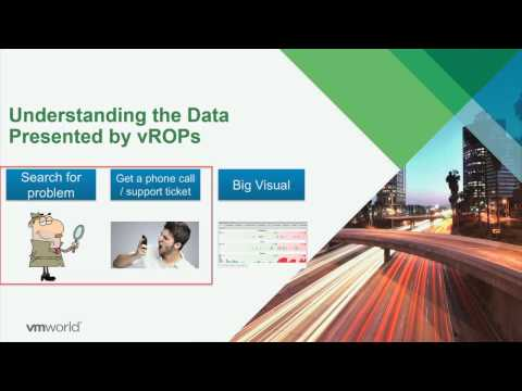 VMworld 2015: MGT4928 - How To Troubleshoot Using vRealize Operations Manager - Live Demo