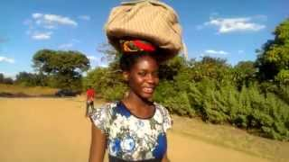 Traditional African Way to Carry Stuff