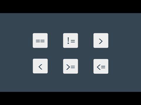 #34 비교 연산자 | 파이썬 강좌 코딩 기초 강의 Python | 김왼손의 왼손코딩