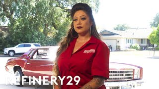 Latinas Shaking Up The Lowrider Car Scene | Irreplaceable | Refinery29