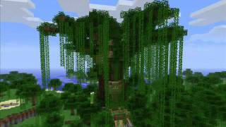 Minecraft - Huge Tree Of Life from Heaven (+Download Link)