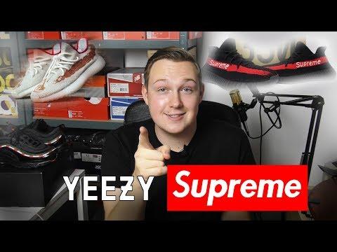 Kupiłem Yeezy SUPREME! + Nowe Yeezy Assassin's Creed Origins!
