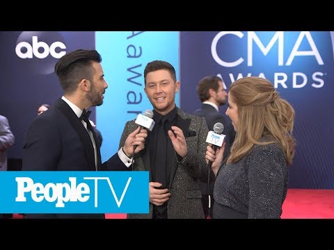 Scotty McCreery Shares How His Wife Keeps Him Grounded  CMAs 2018  PeopleTV