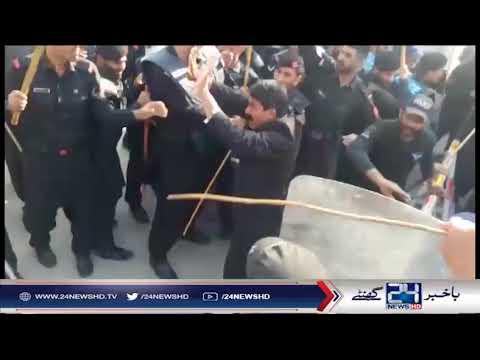 وکلا کی ہنگامہ آرائی کام کرگئی۔۔اسلام آباد کی احتساب عدالت میں کارروائی آغاز سے پہلے ہی ختم ہو