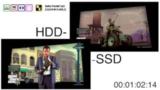Playstation 3 HDD vs. SSD comparison - Backwards Compatible
