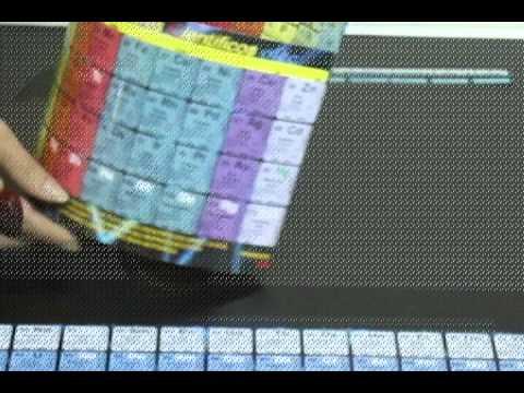 instrucciones tabla periodica tridimensional futuros cientificos - Tabla Periodica En Material Reciclable