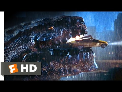 Godzilla 1998  We're in His Mouth!  910  Movies