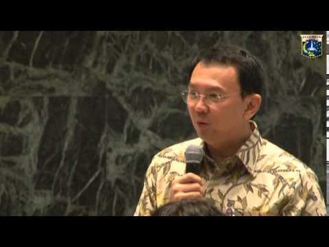 25 Nov 2014 Gub Basuki T. Purnama Menerima Kunjungan Delegasi Misi Bisnis Singapura