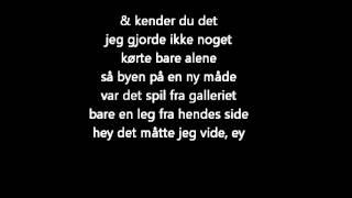Nik & Jay - Nu Er Det For Sent (Lyrics)