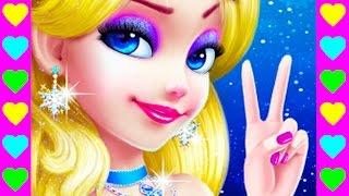 Мультик про Ледяную Принцессу. Дочка Снежной Королевы. Отмечаем день рождения принцессы.