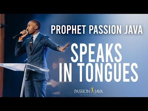 Prophet Passion Java Speaking In Tongues Full Video!