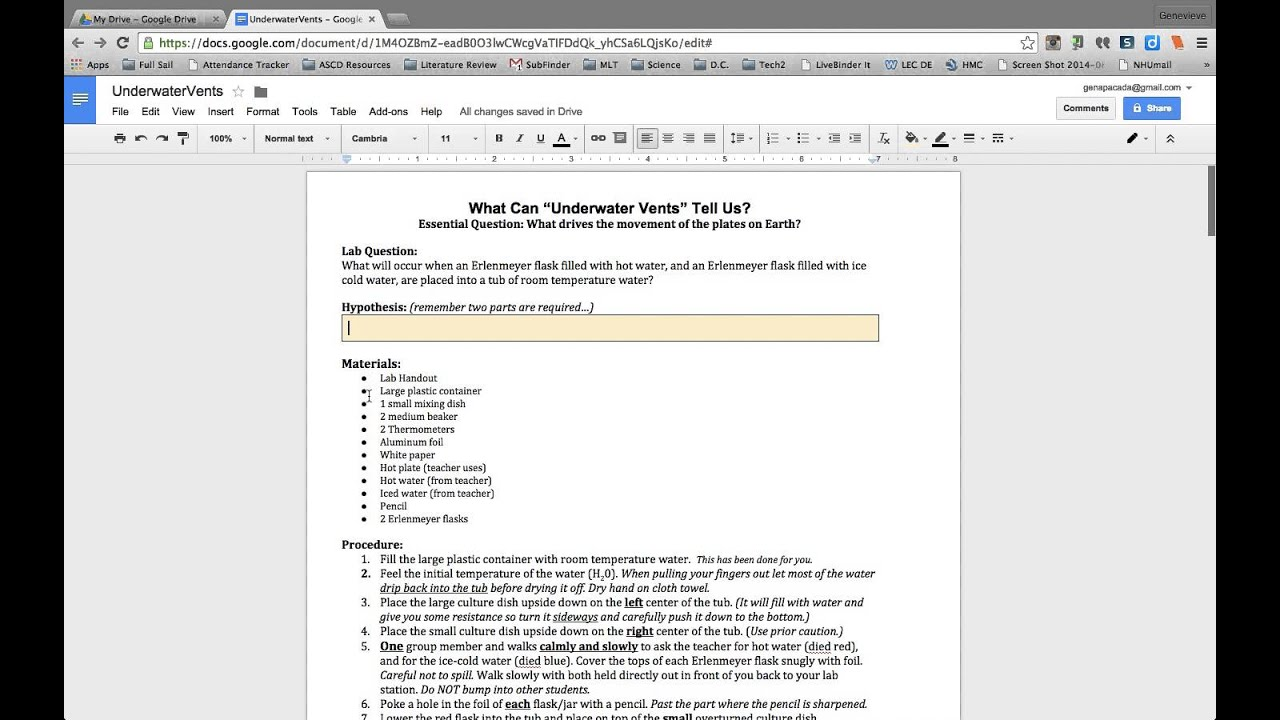 how to change a google doc to word