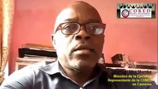 Mensaje de Samuel Mba Mombe, CORED - Campaña de mobilización Clan Obiang