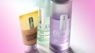 Clinique — трёхступенчатая система ухода за кожей видео обзор SHTUKENSIA .COM
