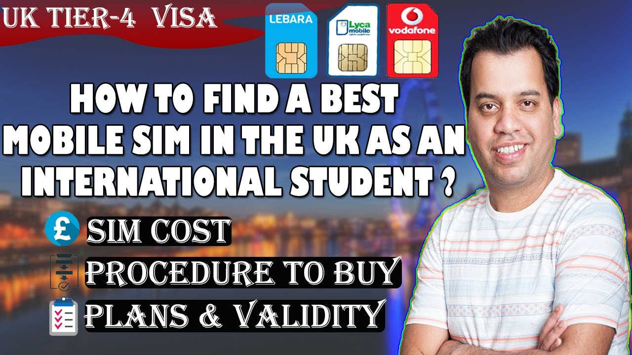 Best Sim Cards in UK | Cheap Mobile Network in UK for International Students  |Indian students in UK