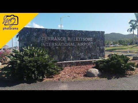 Tour Of Terrance B. Lettsome International Airport, Beef Island British Virgin Islands #bvitreasures