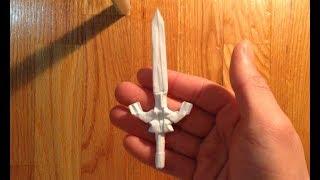 Origami master sword