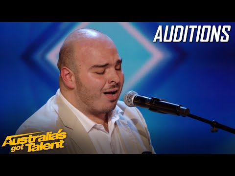 Paul's INCREDIBLE voice brings on waterworks | AUDITIONS | Australians Got Talent 2019