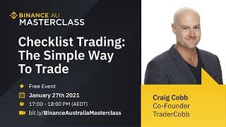 TraderCobb X Binance Australia: Binance Australia Online Masterclass