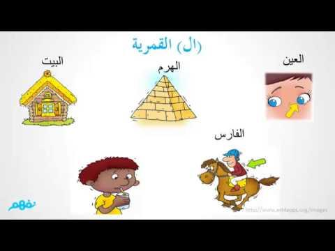 ال الشمسية وال القمرية - اللغة العربية - #نفهم_الرابع_الإبتدائي - موقع نفهم - موقع نفهم