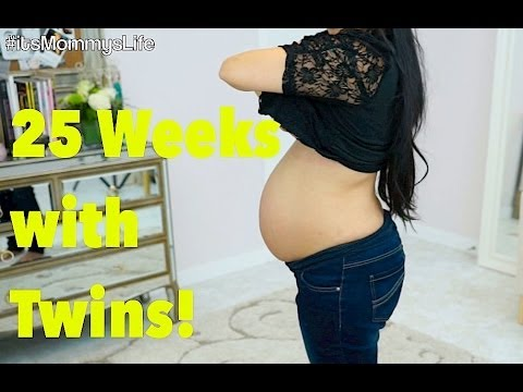 25 Weeks Pregnant with TWINS! - Complications? - itsMommysLife ...