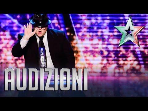 Il moonwalk di Diego | Italia's Got Talent 2015