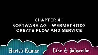 Bölüm 3 : Yazılım AG Akar ve Hizmetleri Oluşturma webMethods