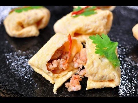 อาหารไทย อาหารโบราณ กาพย์เห่ชมเครื่องคาวหวาน หรุ่ม
