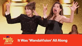 It Was 'WandaVision' All Along | 2021 MTV Movie & TV Awards
