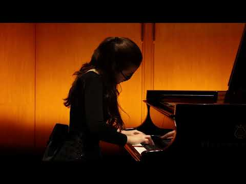 12/13/2019 Alexandra Stychkina: concert of students of the Mira Marchenko' class (I-st part)