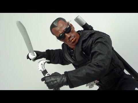 Marvel Studios Blade 12 Inch Blade II Movie Figure Review