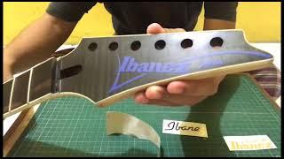 Gitar Squier Sticker Tempel Head-stock Elektrik Not Decal Akustik Bass Guitar Fender Suhr Cort Washburn Gibson Lp Jackson Rick Hanes Bc Rich Ibanez Rg