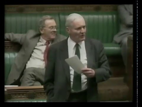 Tony Benn Speaks to Parliament