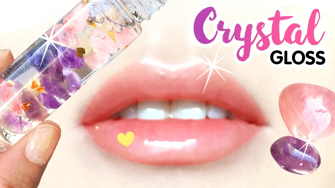 Anti-Anxiety Crystal Lip Gloss Diy Magical Power Of Crystals To Beat -7540