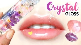 ANTI-ANXIETY Crystal Lip Gloss DIY!! Magical Power of Crystals To Beat Stress!