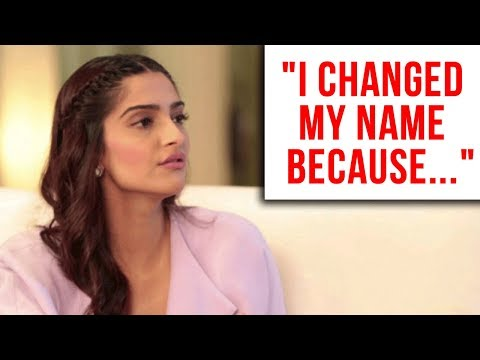 Sonam Kapoor Breaks Silence On Changing Name After Marriage With Anand Ahuja  Sonam Kapoor Ahuja