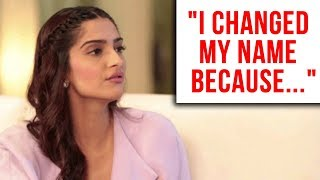 Sonam Kapoor Breaks Silence On Changing Name After Marriage With Anand Ahuja | Sonam Kapoor Ahuja