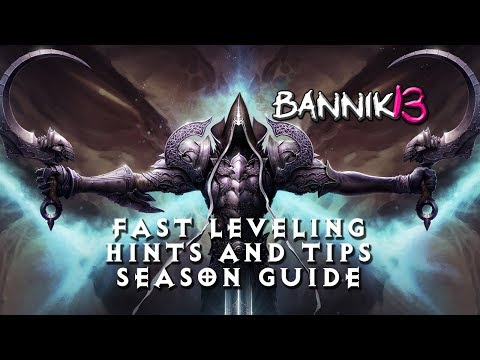 Download Youtube: [DIABLO 3] 1-70 FAST LEVELING HINTS AND TIPS FOR SEASON 12