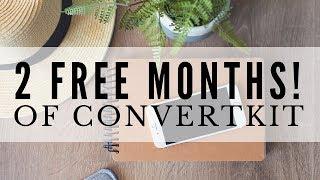 2 FREE MONTHS WITH CONVERTKIT ● FLASH SALE! GENIUS BLOGGER