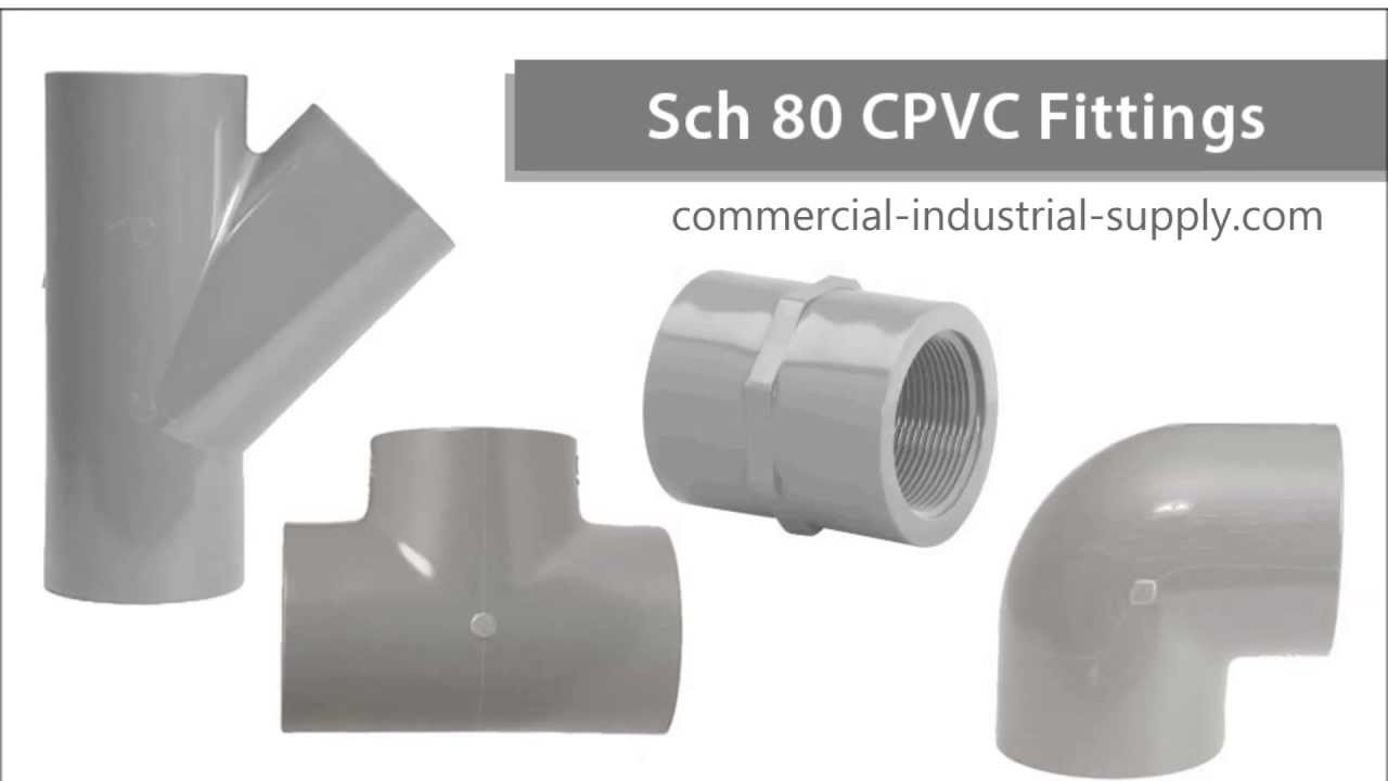 Schedule cpvc fittings youtube