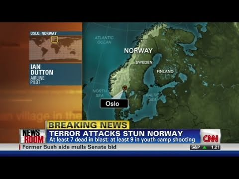CNN: U.S. pilot describes Oslo blast