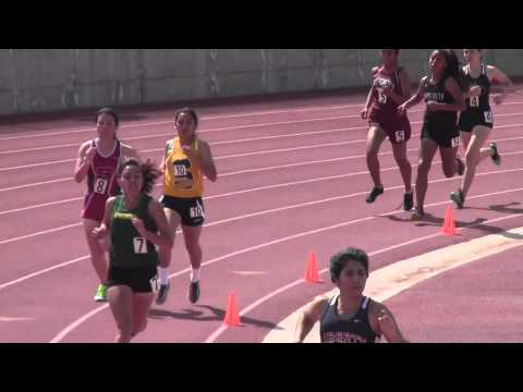 Rafer Johnson:  Girls 800m: 3/21/2015